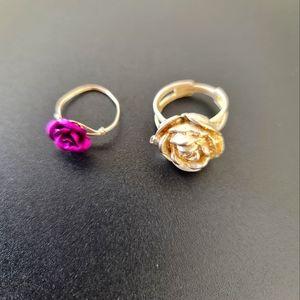 Rose Ring Set